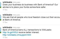 WikiLeaks v. Bank of America: The cat fight continues
