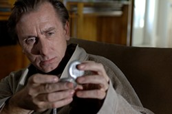 SONY PICTURES CLASSICS - WILL THIS DAMN MOVIE NEVER END?: Dominic (Tim Roth) keeps watch in Youth Without Youth.