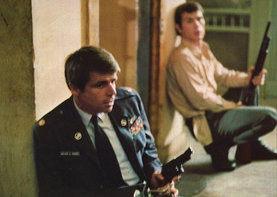 William Devane and Tommy Lee Jones in Rolling Thunder (Photo: Shout! Factory)