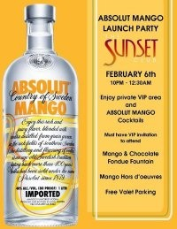 win tickets to absolut mango launch party vibes