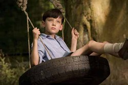 DAVID LUKACS / MIRAMAX - WING TIME: Asa Butterfield in The Boy in the Striped Pajamas.