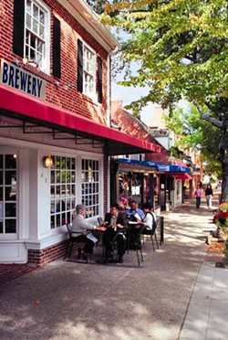CHAPEL HILL/ORANGE COUNTY VISITORS BUREAU - WISH YOU WERE HERE: Chapel Hill (Franklin Street pictured above) is working to become a destination for gay travelers.