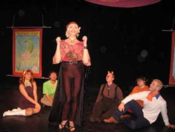 QUEEN CITY THEATRE COMPANY - WITHOUT A CLUE: Those meddling kids check out the show in Spooky Dog and the Teen-age Gang Mysteries.