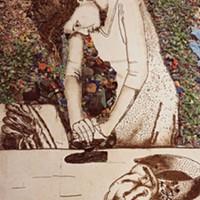 WOMAN IRONING (ISIS), PICTURES OF GARBAGE, 2008, by Vik Muniz