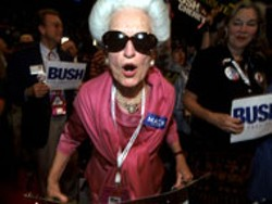 WOMEN IN POLITICS Photo by Nancy Kaszerman - included in Light Factory show