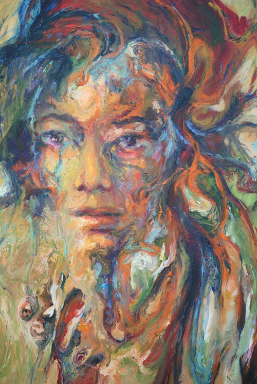 Work by Colombian painter Gabriel Ramirez