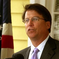 WORST MEMBER OF LOCAL GOVERNMENT: Mayor Pat McCrory