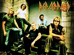 Yeah!, Usher ... I mean Def Leppard are still the Lords of Rock. They team up with Journey at Verizon Wireless Amphitheater, July 15