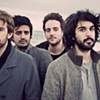 Young the Giant at the Fillmore tonight (4/26/2012)