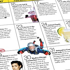 110 reasons to mark your calendar