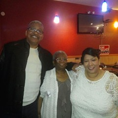 15th Ald. Toni Foulkes poses with her parents. Foulkes, who's campaigning to be alderman of the 16th Ward, posted this photo to a friend's Instagram account in an attempt to clear up what she says has been confusion around her ethnicity.