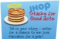 3/1—Free Pancakes at IHOP