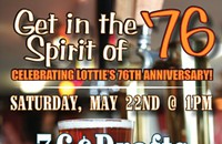 5/22 — Free Anniversary Party at Lottie's Pub