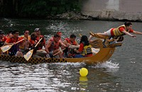 7/24 — Dragon Boat Race in Chinatown