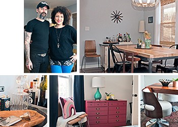 A blaze of glory for Taryn and Sanford Parker's home