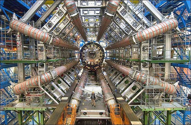 A detector at the Large Hadron Collider