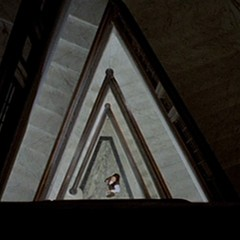 A dizzying shot from The Bird with the Crystal Plumage