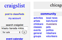 A guide to navigating the 'musicians' section of Craigslist