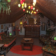 A makeshift tiki hut in a Mayfair attic gives Lost Lake a run for its money