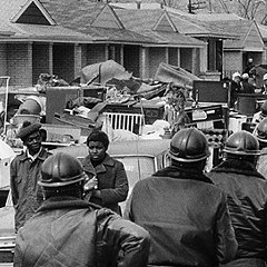 A mass eviction in Chicago in 1970