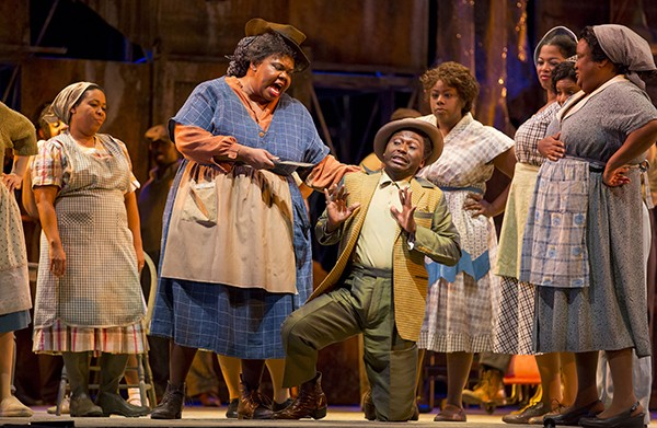 A Porgy and Bess seat on Lyric Opera's site: $59. The same seat at the ticket window an hour before the show: $30.