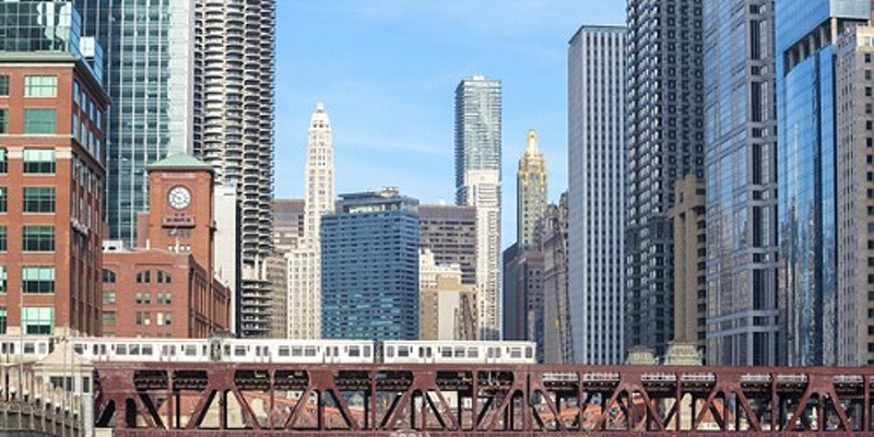A small chunk of central Chicago gets most of the investment from the tax increment financing program, according to city data.