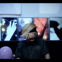 """A still from EMA's video for """"Satellites"""""""