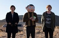 The strange band from Irish comedy <i>Frank</i> makes alluring indie-pop music