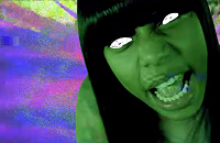 Sasha Go Hard breaks her hiatus with a new single and a psychedelic video to go with it
