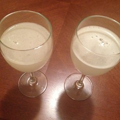 A tale of two pisco sours. Actually, four. Maybe more.