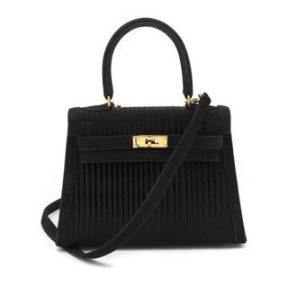 A vintage mini Kelly bag from Hermes, one of the items up for auction at Leslie Hindman Auctioneers.