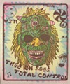 A William Keihn poster for Thee Oh Sees and Total Control