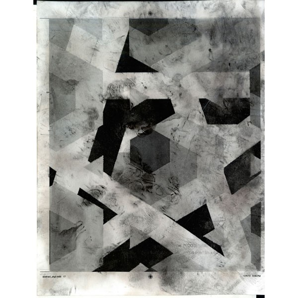 Aaron Van Dyke, Untitled (Side 1 of 2), 2012, inkjet print, 42 x 33 inches.