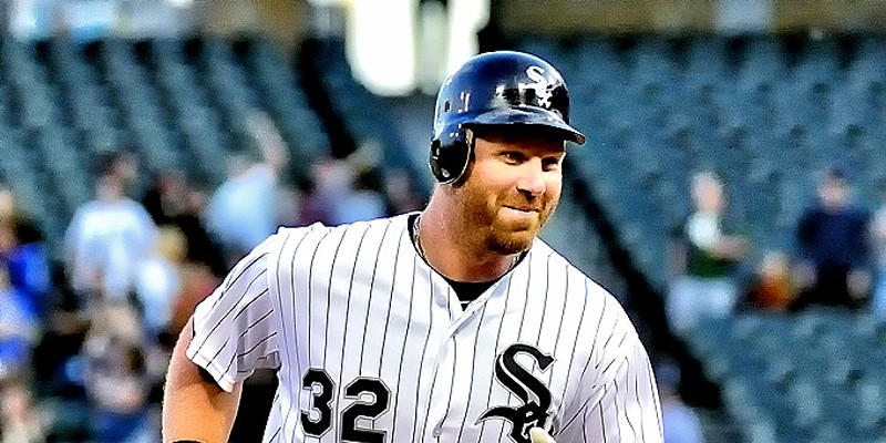 Adam Dunn turned frowns upside down at Sox Park Monday.