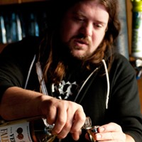 Step-by-step instructions for making Rodan co-owner Eric Chaleff's flu-fighting toddy Add an ounce of Velvet Falernum liqueur.