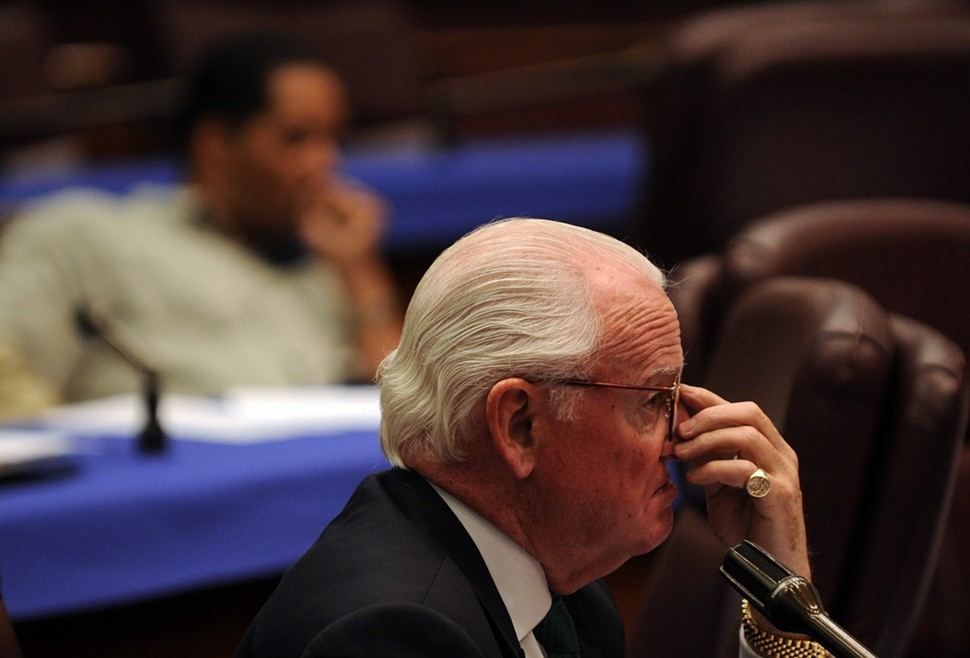 Alderman Ed Burke: befuddled that anyone would vote no on Rahm Emanuels budget