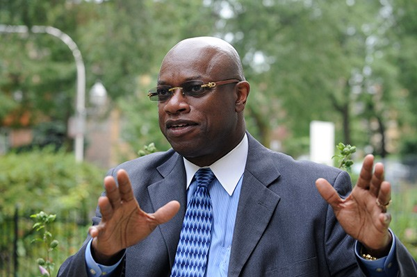 "Alderman Willie Cochran, former narcotics cop: ""The war on drugs has failed."" - JOHN H. WHITE/SUN-TIMES"