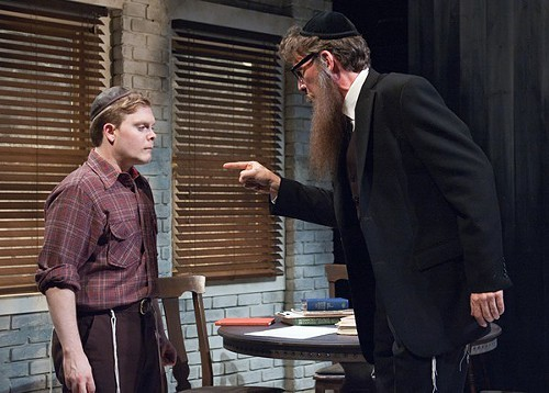 Alex Weisman and Lawrence Grimm in My Name Is Asher Lev