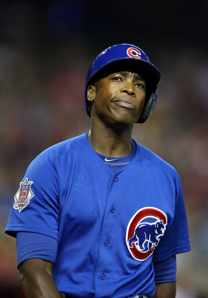 Alfonso Soriano, after fanning last night against the Diamondbacks. Soon he could be homering for the Yankees.