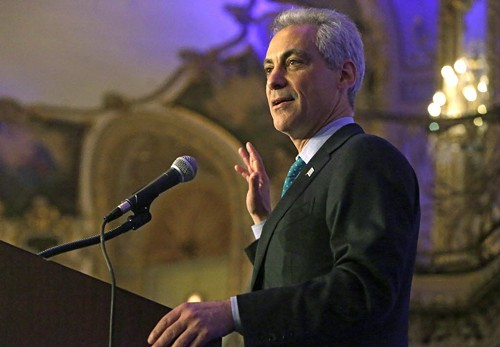 All right, so Rahm gets to the theater more.
