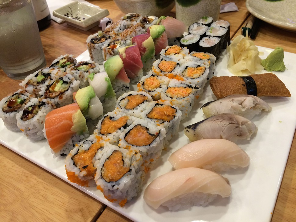 All you can eat, Tokoro Sushi