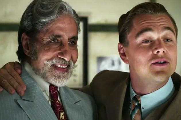 Amitabh Bachchan (left) in Baz Luhrmanns The Great Gatsby
