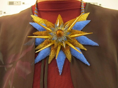 ... and necklace by Beata Kania
