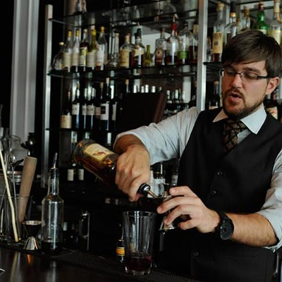 Cocktail Challenge: Henri bartender Clint Rogers crafts the Michigan Sweat Lodge, working with fenugreek