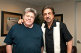 George Wendt and Joe Mantegna make their case. - ANDREA BAUER