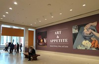 """""""Let There Be Light,"""" """"Art and Appetite,"""" and the rest of your weekend in visual arts"""