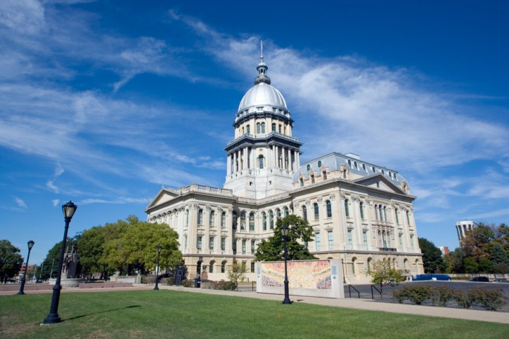 As it turns out, I dont have any idea how to illustrate a column like this. So heres a stock photo of the Illinois statehouse in Springfield.