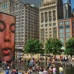 At its tenth anniversary, Crown Fountain remains a wellspring of questions