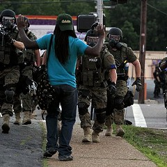 August in Ferguson, Missouri