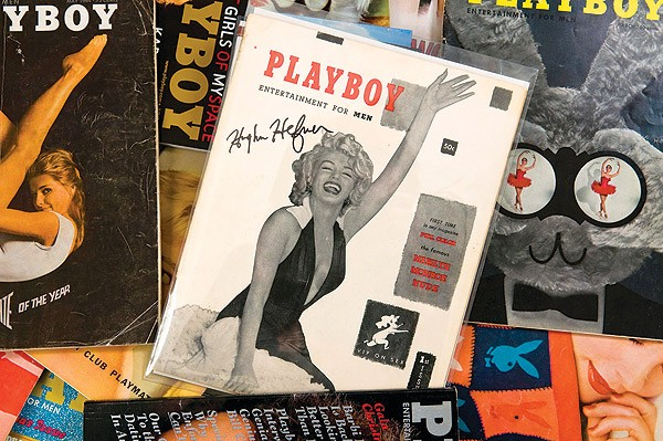 Autographed playboy first issue